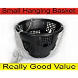 "Small Easyfill 10"" Hanging Basket - Pack of 4, plus free swivel hook"