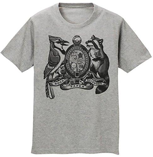 Regular Show Rock Paper Scissors Men's T-shirt Small