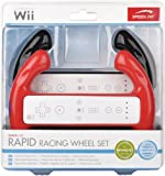 Speedlink Rapid Racing Wheel Set Black & Red (Wii)