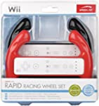 Nintendo Wii - RAPID Racing Wheel Set...