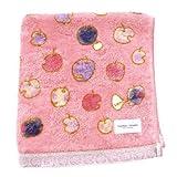 tsumorichisato ツモリチサト 【りんごまん】 ハンドタオル 3207g079 ピンク