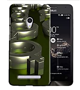 PrintFunny Designer Printed Case For AsusZenfone6