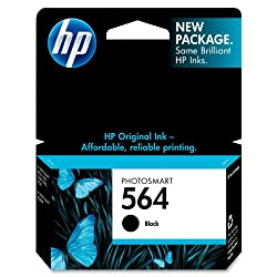 HP 564 Ink Cartridge in Retail Packaging-Black