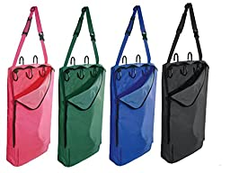 Derby Originals Halter Bridle Carrier Bags with Swivel Hooks, Neon Pink