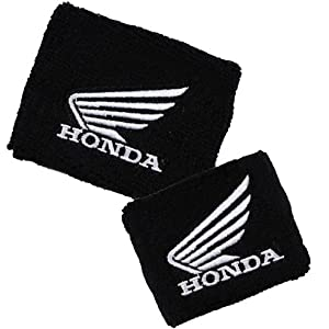 Honda Wing Brake/Clutch Reservoir Sock Cover SetAvailable in Black/Red, Black/White, Red/White and White/Red, Fits CBR, 600, 1000, 600RR, 1000RR, 954, 929, RC51