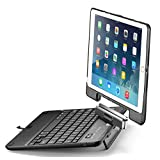 New Trent NT55B Airbender Star iPad Air Keyboard Case with Detachable Rotatable Wireless Bluetooth Smart Keyboard for Apple iPad Air / iPad Air 2