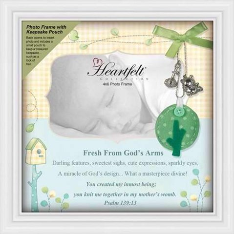 Heartfelt 115129 Frame Shadowbox Baby Keepsake 10 x 10
