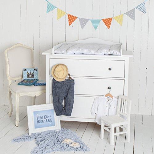 wolke 7 wickelaufsatz f r ikea hemnes kommode. Black Bedroom Furniture Sets. Home Design Ideas