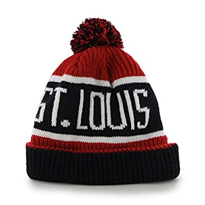MLB St. Louis Cardinals '47 Brand Calgary Cuff Knit Hat with Pom