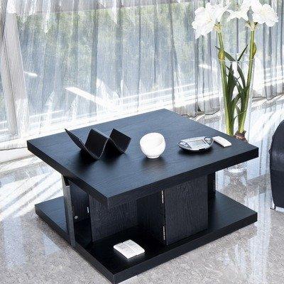 Buy low price caleb coffee table in matte black el for Buy black coffee table