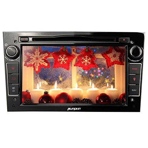 Zucca WinCE digitale touchscreen da 7pollici doppio DIN Autoradio per Opel/Vauxhall Corsa (2006-2011)/Vectra (2005-2008)/Antara (2006-2011)/Meriva (2006-2008)/Astra (2004-2009)/Vivaro (2006-2010)/Zafira (2005-2010) supporto GPS/DVD/VCD/MP3/CD/Bluetooth/controllo del volante/USB/SD/FM/AM/Radio EQ/Cam-in