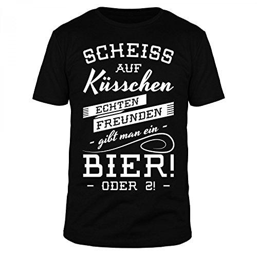 fabtee-scheiss-auf-kusschen-echten-freunden-gibt-man-ein-bier-herren-t-shirt-verschiedene-farben-gro