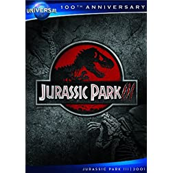 Jurassic Park III [DVD + Digital Copy] (Universal's 100th Anniversary)