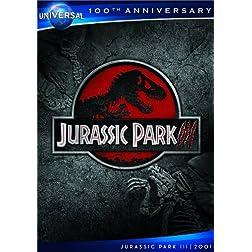 Jurassic Park III [DVD + Digital Copy] (Universal's 100th Anniversary)