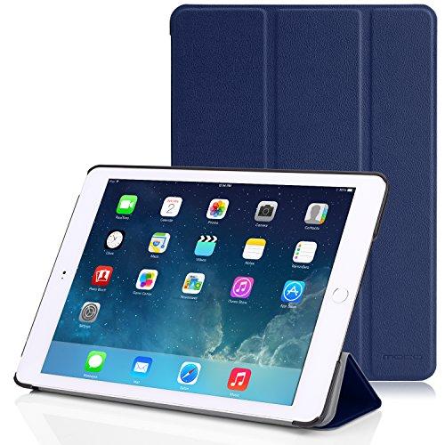 Apple iPad Air 2 Case - MoKo Ultra Slim Lightweight Smart-shell Stand Cover Case for Apple iPad Air 2 (iPad 6) 9.7 Inch iOS 8 Tablet, INDIGO (with Smart Cover Auto Sleep / wake)