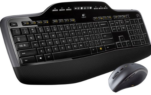 Logitech MK710 Wireless Desktop Mouse and Keyboard