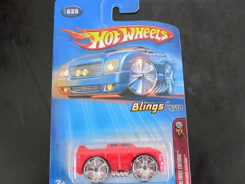 Quadra-Sound -(silver bling wheels)	2005 Hot Wheels First Editions #35 - 1
