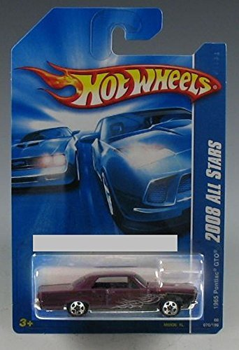 HOT WHEELS 2008 ALL STARS 1965 PONTIAC GTO 70/196