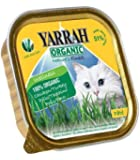 Yarrah Organic Chicken and Turkey Pate with Aloe Vera Cat Food 100 g (Pack of 16)
