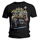 Official Steel Panther Hollywood Unisex T-shirt (Black)