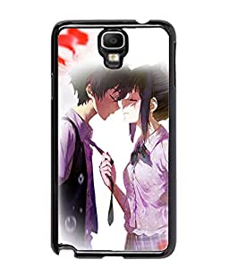 Fuson Love Couple Back Case Cover for SAMSUNG GALAXY NOTE 3 NEO - D3738
