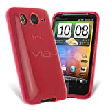 Celicious Pink Premium Gel Case for HTC Desire HD HTC Desire HD Case Cover