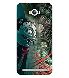 PrintDhaba Cartoon D-3055 Back Case Cover for ASUS ZENFONE MAX ZC550KL (Multi-Coloured)