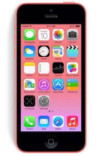 Apple iPhone 5C Smartphone (10,2 cm (4 Zoll) Display, 8GB Speicher, iOS 6) Pink