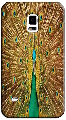 Beautiful Peacock Cell Phone Cases Design Special For Samsung Galaxy S5 I9600 No.10
