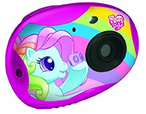Lexibook DJ015MLP My Little Pony Digitalkamera (0,3 Megapixel, 32MB interne Speicher, USB)