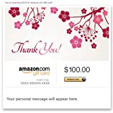 Amazon Gift Card - E-mail - Thank You (Flowers)