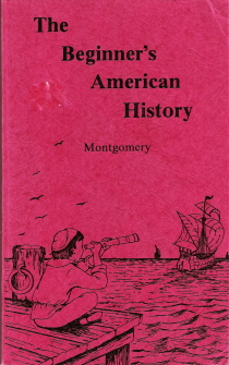 Large book cover: The Beginner's American History
