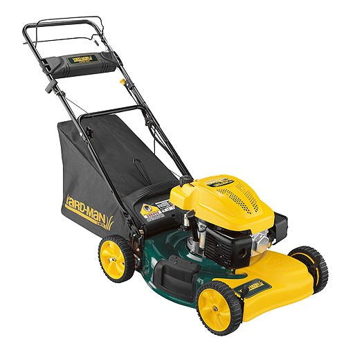 Yard-Man 12AE46JA001 21-Inch 173cc MTD OHV Gas-Powered Side Discharge/Bagging/Mulching FWD Self-Propelled Lawn Mower