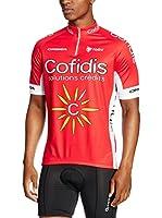 MOA FOR PROFI TEAMS Maillot Ciclismo Cofidis (Rojo)