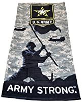 Officially Licensed U.S. Army Beach Towel by The Northwest Company