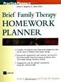 img - for Brief Family Therapy Homework Planner by Bevilacqua, Louis J., Dattilio, Frank M., Bevilacqua, Lou (2001) Paperback book / textbook / text book