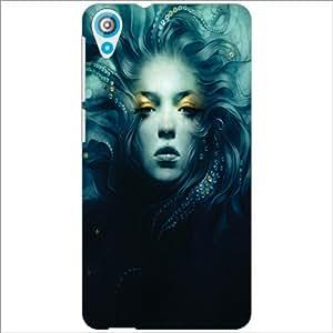 HTC Desire 820 Back Cover - Blue Eyes Designer Cases