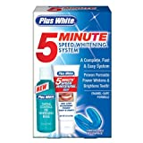 Plus White 5 Minute Speed Whitening  System, 1 Kit (Pack of 3) ~ Plus White
