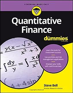 Book Cover: Quantitative Finance For Dummies