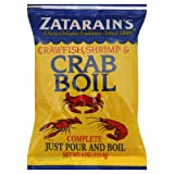 Zatarains Crawfish, Shrimp & Crab Boil 4 oz (Pack of 4)