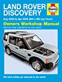 Martynn Randall Land Rover Discovery Diesel Service and Repair Manual: 04-09 (Haynes Service and Repair Manuals)