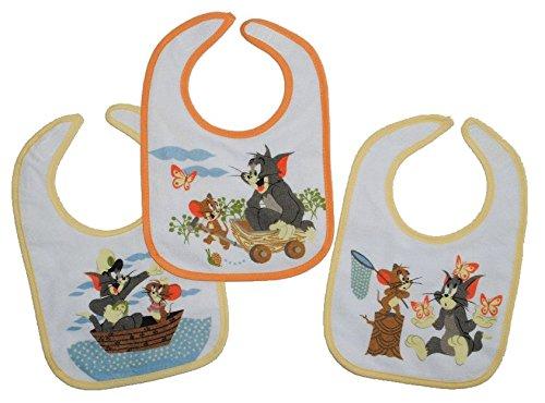 1-Stk-Babyltzchen-KLEIN-Tom-und-Jerry-aus-weichem-Frottee-mit-Klett-Unten-extra-Folie-beschichtet-Looney-Tunes