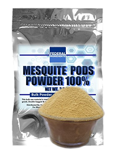 MESQUITE POWDER 100% - 2.5 Ounces (70 Grams) Lab Quality Sample - Made in the USA by Federal Ingredients - aka organic mesquite powder mesquite flour mesquite meal (Curlys Bbq Sauce compare prices)