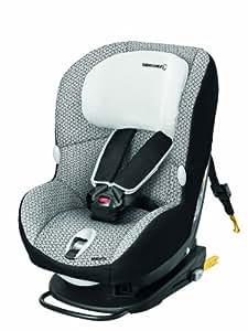 Bébé Confort MiloFix - Silla de coche grupo 0+/1, desde 0 hasta 18 kg, instalación IsoFix, color negro/gris