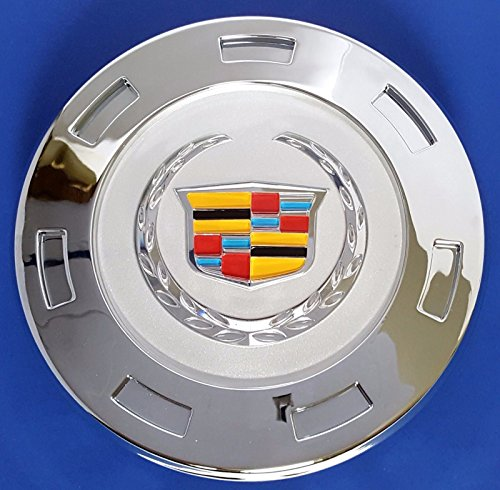 Brand New one Piece GM Cadillac Escalade 22 inch wheel center Hub caps 9596649 COLOR CREST 2007,2008,2009,2010,2012,2013,2014.US Fast Shipment. (Cadillac Escalade Hubcap Cover compare prices)
