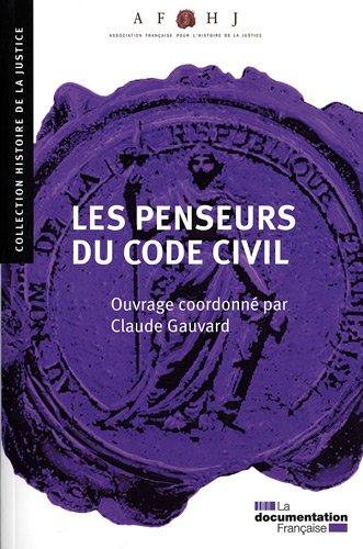 Les penseurs du Code civil. N.19