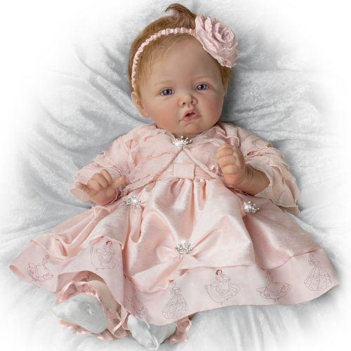 Baby Doll Pretty As A Princess Baby Doll By Ashton Drake