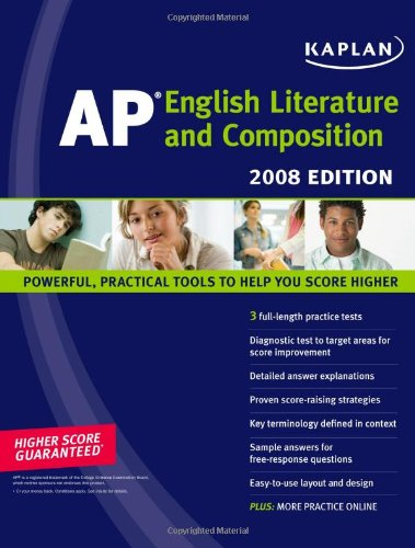 Kaplan AP English Literature and Composition, 2008 Edition