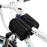 Tofern Fahrrad Radfahren Rahmentaschen Steuerrohr Taschen Beutel Satteltaschen - 1.5L, 8 Farben