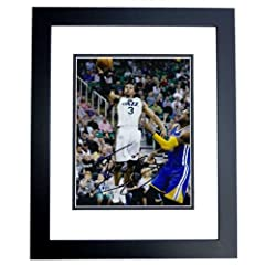 Trey Burke Autographed Hand Signed Utah Jazz 8x10 Photo - BLACK CUSTOM FRAME by Real Deal Memorabilia
